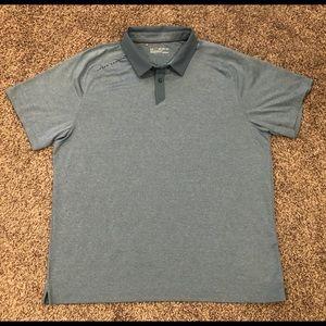 Under Armour Blue Golf Heatgear Polo Shirt